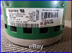 Genteq Evergreen 6207E Replacement 3/4 HP 230 Volt X-13 Furnace/Ac Blower Motor