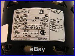 Genteq F48R09C04 Furnace Blower Motor 1/2HP 208-240V PH1 AMPS 3 65047801