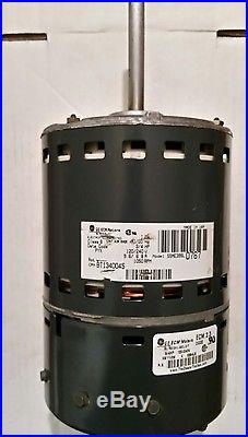 Goodman bt1340045 ge ecm furnace blower motor 5sme39sl0767 for Ecm motors for hvac