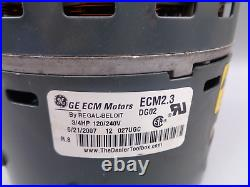 HD46AE134 5SME39SL0668 GE MOTORS 3/4 HP Furnace Blower Motor & Module
