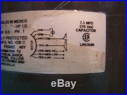 ICP Heil Tempstar HQ1012513EM OEM furnace blower motor 1/2 HP 115 V 1012513