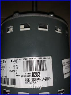 Lennox 5SME39SL0253 18M8101 Variable Speed Furnace Blower Motor