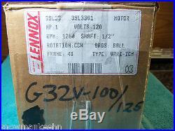 Lennox ECM 1 HP Furnace blower motor and controller 39L3301 31L7701 LB-101945M