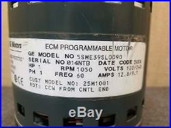 Lennox Furnace GE Fan Blower Motor Assembly 2.3 ECM 25M1001 5SME39SL0090 1HP