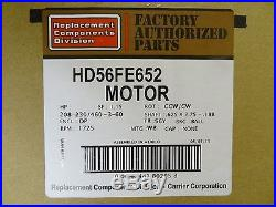 Marathon 208-460v 3 Phase Furnace Blower Motor HD56FE652