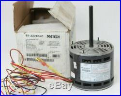NEW Protech Tripsaver Blower Motor Rheem Furnace 51-23012-41 1/2 HP 1075 4 SPD