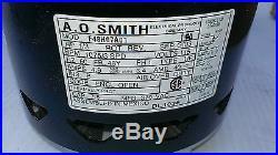 NEW Universal Furnace Blower Motor 1/3HP 115Volt 1075/3SPD AO SMITH F48H07A01
