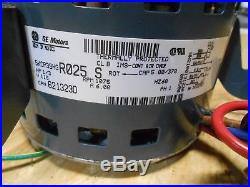 NORDYNE MILLER GE Furnace Blower motor 1/3 hp 115 1075 rpm 5KCP39HGR025S 621323D
