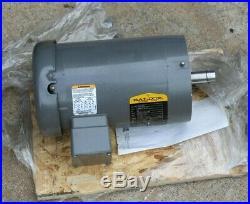 New Baldor 2 HP Electric Blower Furnace Motor 1725 RPM 3 PH 60 Hz 6.5 Amp, XPO