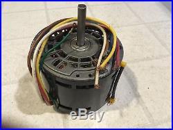 New Emerson 1/3 HP Furnace Blower Motor 1050 1075 4 speed 208-230v 2.4 Amp HVAC