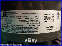 New Lennox OEM furnace blower motor 21L92 1/3HP 1075 4SP 115V 60L21 29W71 21W85
