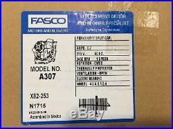 New OPEN BOX FASCO A307 Furnace Motor Blower