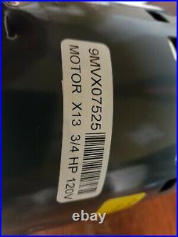New Oem Genteq X13 115v 5sme39nxl010a 73clw36aa Furnace Blower Motor 9mvx07525