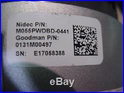 New US motors selectech furnace blower motor Goodman 0131M00497 0131M00501S