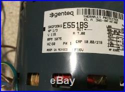 OEM Trane American Standard Furnace BLOWER MOTOR 1/3 HP 115v MOT03023