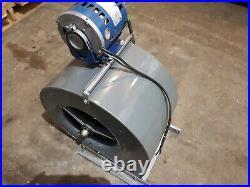 Oil Furnace Blower Motor & Fan Housing Assembly 1/3Hp Ac Motor Tested