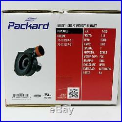 Packard Furnace Draft Inducer Motor 66781 for Rheem Rudd 70-101087-81 7021-11559