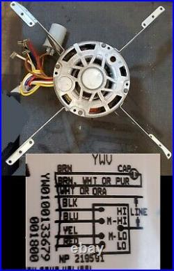RGLH-07EAUER 51-24070-02 5KCP39KGS018S Rheem furnace OEM blower motor brackets