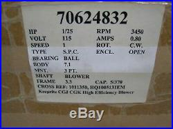 Rotom Furnace Inducer Blower Motor 7062-4832 R7-RFB350