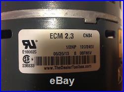 Ruud Rheeme Weatherking 51-24374-00 1/2hp Ecm Furnace Blower Motor With Module