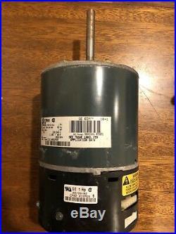 Trane D341314P23 MOT09251 5SME39SL0301 CP02 ECM 1HP Furnace Blower Motor Used