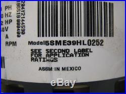 Trane GE 5SME39HL0252 D341314P34 MOT09262 ECM 2.3 1/2HP Furnace Blower Motor