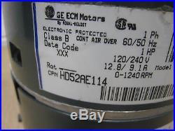 Trane GE 5SME39SL0847 HD52AE114 Furnace ECM Blower Motor 1HP USED FREE SHIPPING