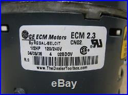 Trane GE Genteq 5462 5SME39HL0252 1/2HP ECM 2.3 CN02 Furnace Blower Motor Used