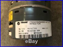 Trane MOT09235 D341314P07 Furnace Variable Speed Blower Motor 2005