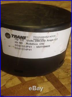 Trane MOT09609 1/2HP Furnace ECM Blower Motor Module CW Rotation ECM 2.3