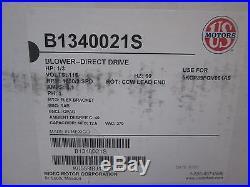 US MOTORS B1340021S 1/3 HP 115V Furnace Blower Motor BRAND NEW FREE SHIPPING
