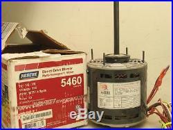 US Motors NIDEC K55HXENV-0115 Furnace Blower Motor 1/2-1/6HP 115V 4SPD 7.3A 5460